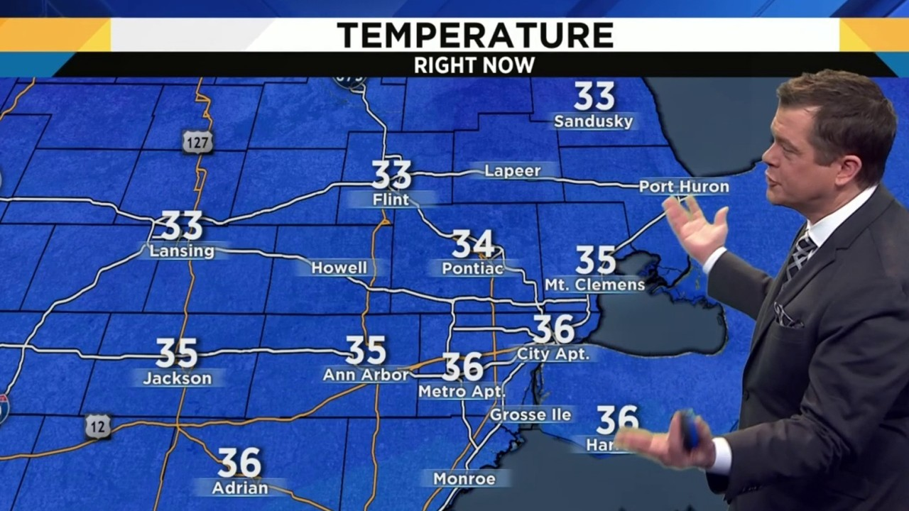 Thumbnail For Metro Detroit New Years Day Weather Forecast A Break From The Rain