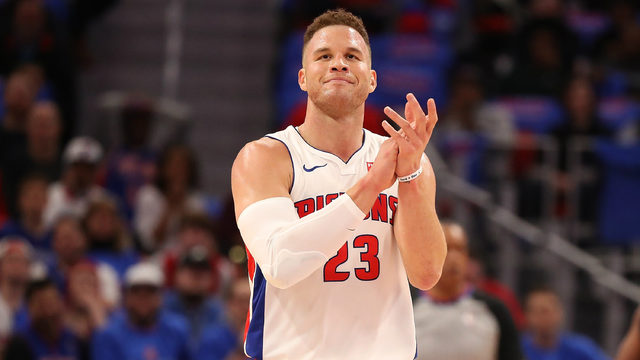 Detroit Pistons forward Blake Griffin undergoes successful knee surgery