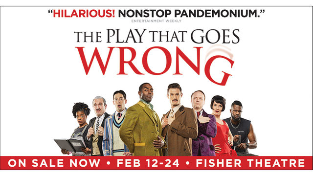 It's a Local 4 Free Friday! The Play That Goes Wrong Rules