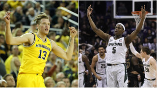 Breaking down final 6 weeks of Michigan vs. Michigan State for Big Ten&hellip&#x3b;