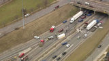 EB I-94 at I-75 in Detroit now open after crash