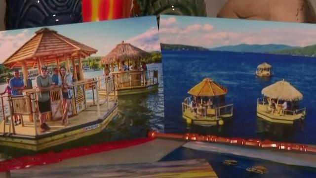 Company brings tiki bar boats to the Detroit River this summer