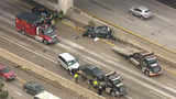 Eastbound I-94 back open at Michigan Avenue after multi-vehicle crash