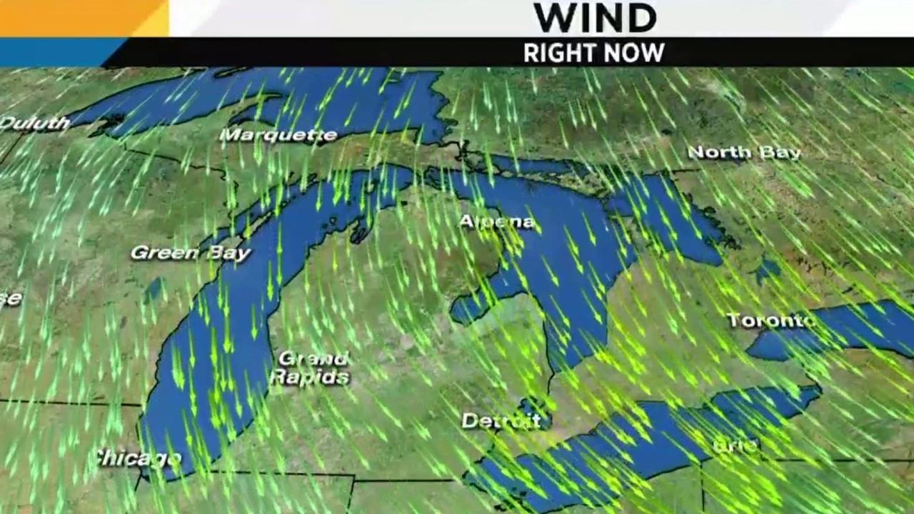 Metro Detroit Weather Single Digit Wind Chills