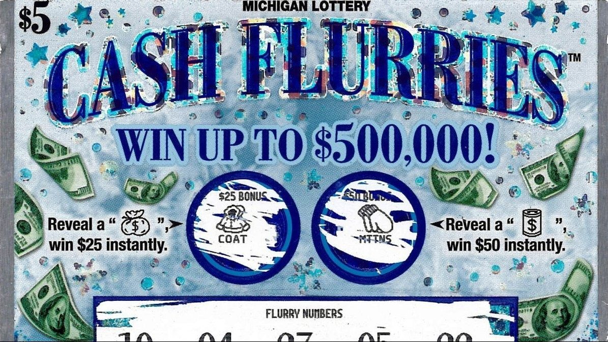 Michigan Lottery: Macomb County man wins $500K on scratch off