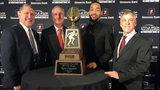 Ferris State University junior quarterback Jayru Campbell receives&hellip&#x3b;