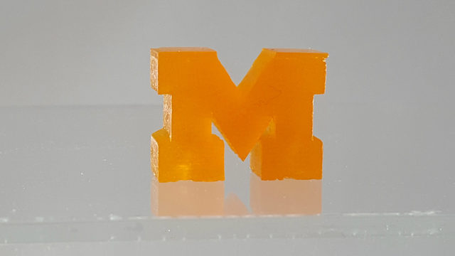 UM researchers build record-breaking light-based 3D printer