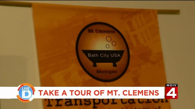 Take a tour of Mt. Clemens, where royalty and celebrities used to visit…