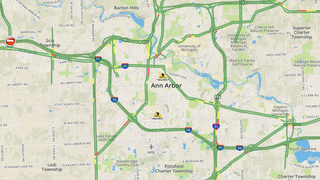 Traffic Map All About Ann Arbor