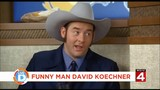 Whammy! Comedian David Koechner dropped by before his comedy shows in Royal Oak