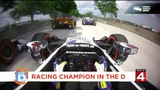 Racing champion Will Power cruises into the D