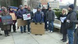 Metro Detroit federal workers hold protest during government shutdown