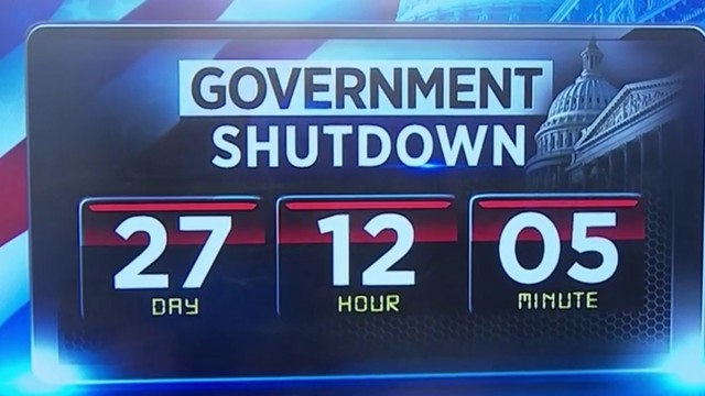 Michigan workers protest government shutdown
