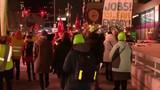 Rep. Tlaib, Lt. Gov. Gilchrist join GM protest outside Detroit auto show&hellip&#x3b;