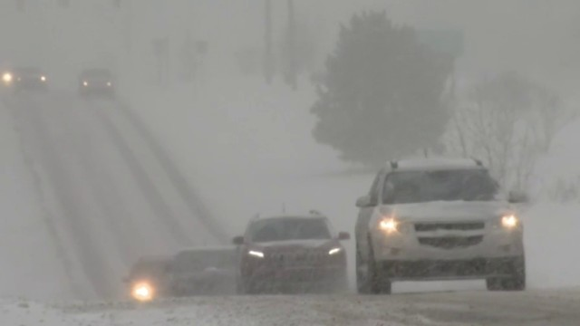 Metro Detroit roads remain messy as crews work to clean up Saturday's snow