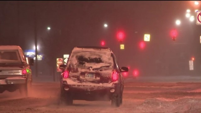 Plow drivers busy across Metro Detroit after first snowfall of 2019