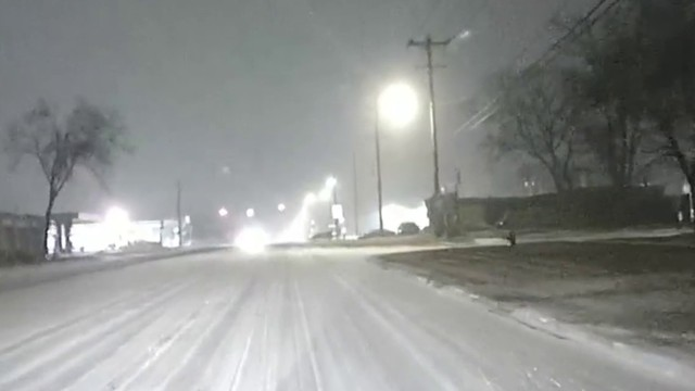 LIVE TRAFFIC: Snow creates dangerous driving conditions, leads to&hellip&#x3b;