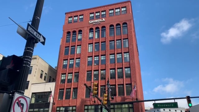 Check out the new Shinola Hotel in Downtown Detroit during NAIAS 2019
