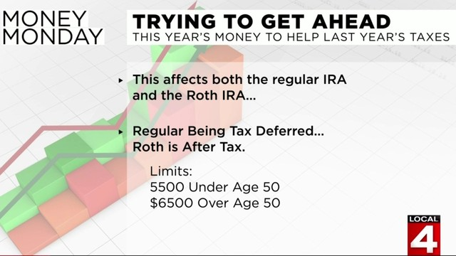How this year's money will help last year's taxes