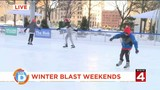 There's FREE ice skating at Winter Blast Weekends today!