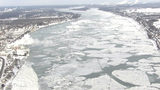 VIDEO: Icy St. Clair River on Monday, Jan. 21, 2019