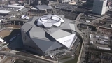 VIDEO: Mercedes-Benz Stadium in Atlanta being prepared for Super Bowl LIII