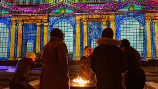 PHOTOS: Winter Festival outside Michigan Central Station