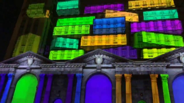 WATCH: Time-lapse of Michigan Central Station light show