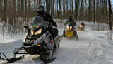 Deadly crashes claim lives of 5 Michigan snowmobilers in single day