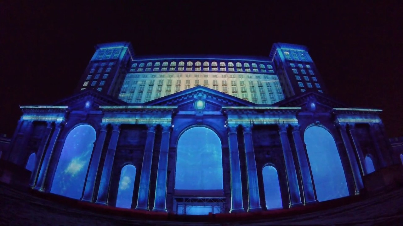 WATCH: Ford's amazing 3D light show at Detroit's Michigan Central Station