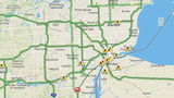 LIVE TRAFFIC: Icy conditions expected on Metro Detroit roads overnight