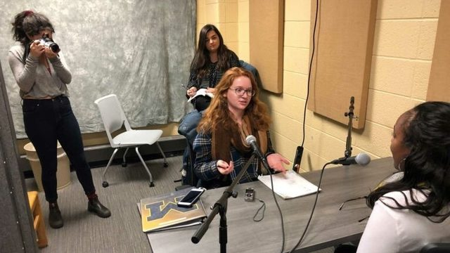 "U-M student-launched podcast ""While We Were Away"" tells stories of…"