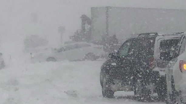 Multiple pileups, including 24-vehicle pileup reported on West Michigan freeways