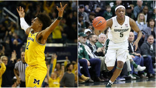Michigan, Michigan State among 6 teams currently battling for No. 1 seeds
