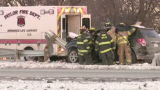 Suspected hit-and-run driver arrested after crash on WB I-94 at Telegraph Road