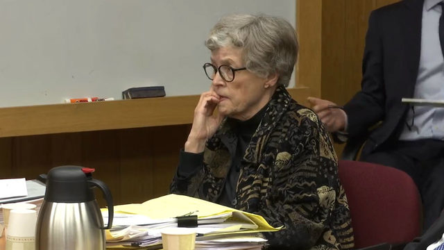 Ex-Michigan State president charged in Nassar case has court hearing