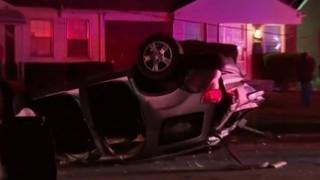 Multiple people injured in 6-vehicle crash on Detroit's east side