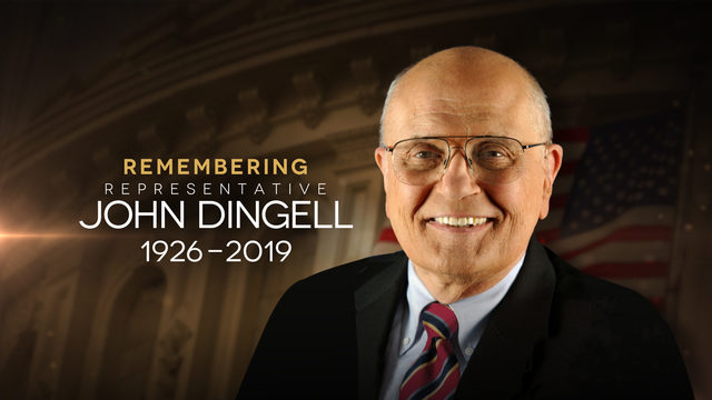 Former Michigan Rep. John Dingell dies at age 92
