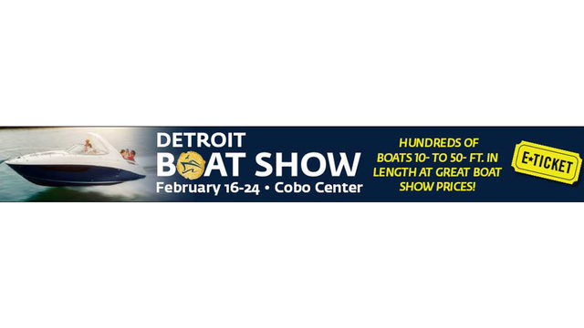 It's a Local 4 Free Friday!  Detroit Boat Show Rules
