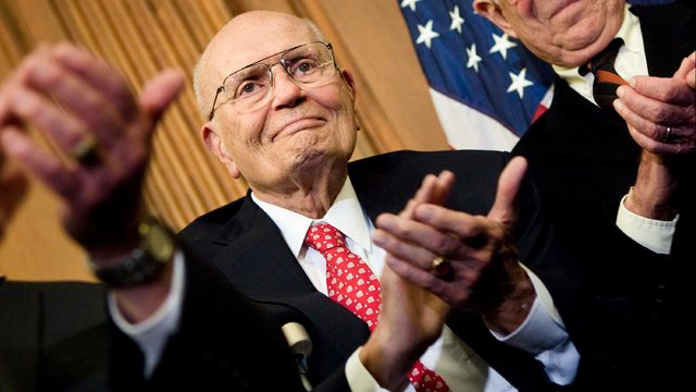WATCH: Michigan officials share memories of former Rep. John Dingell