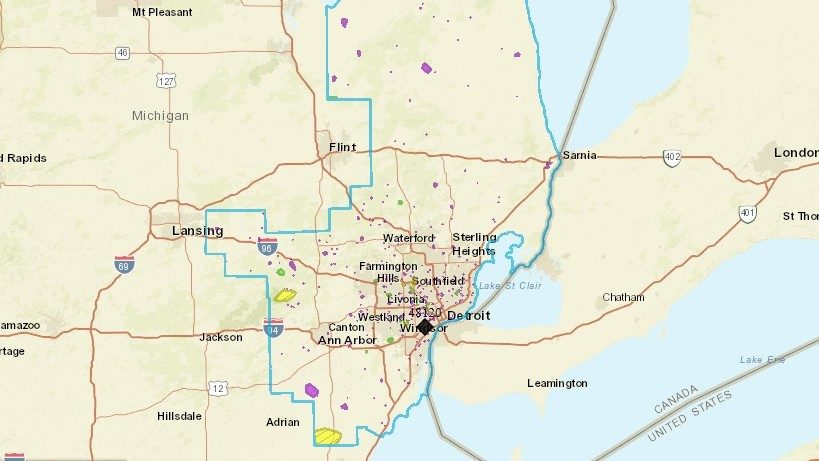 Dte Energy Power Outage Map Here S How To Check It