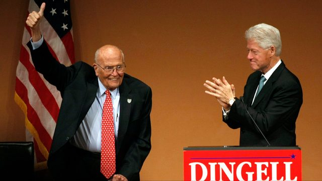 Bill Clinton on John Dingell: Grateful to have worked with him, call him…