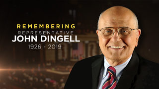 Report: Last words from former Michigan Rep. John Dingell