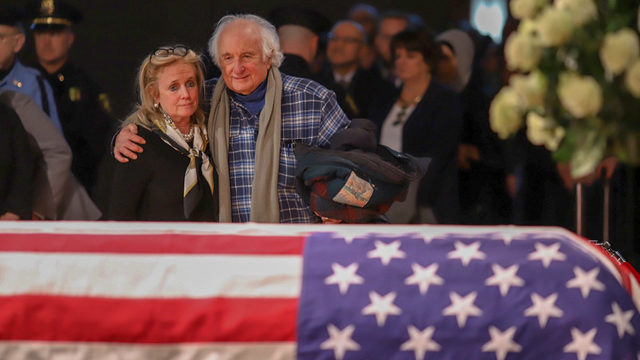 Crowds pack visitation for John Dingell in Dearborn