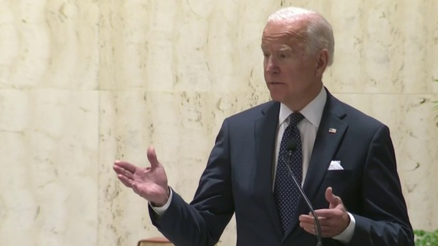 FULL SPEECH: Joe Biden delivers eulogy at John Dingell's funeral in Michigan