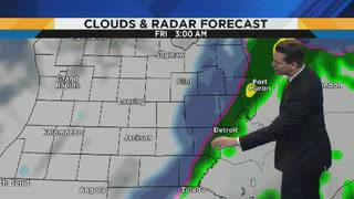 Metro Detroit weather: Warm, dry Thursday before precipitation returns