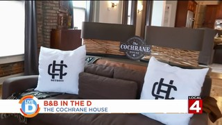 Explore the luxurious B&B at The Cochrane House in Detroit