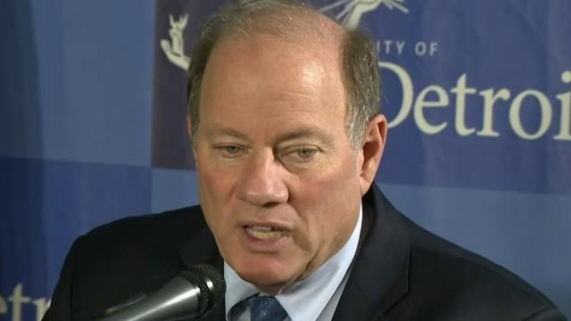 Detroit Mayor Duggan endorsing former VP Joe Biden in presidential race
