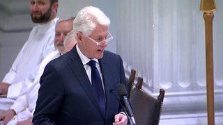 FULL SPEECH: Bill Clinton offers eulogy at John Dingell's funeral in Washington