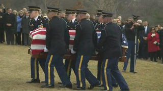 WATCH: John Dingell laid to rest at Arlington National Cemetery